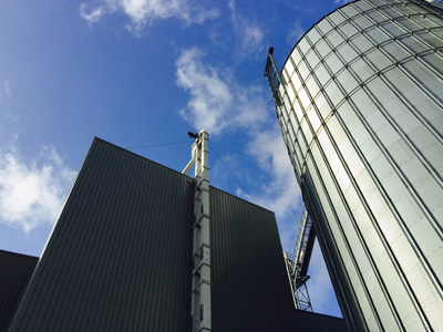 Pelletfabriek Ecopower