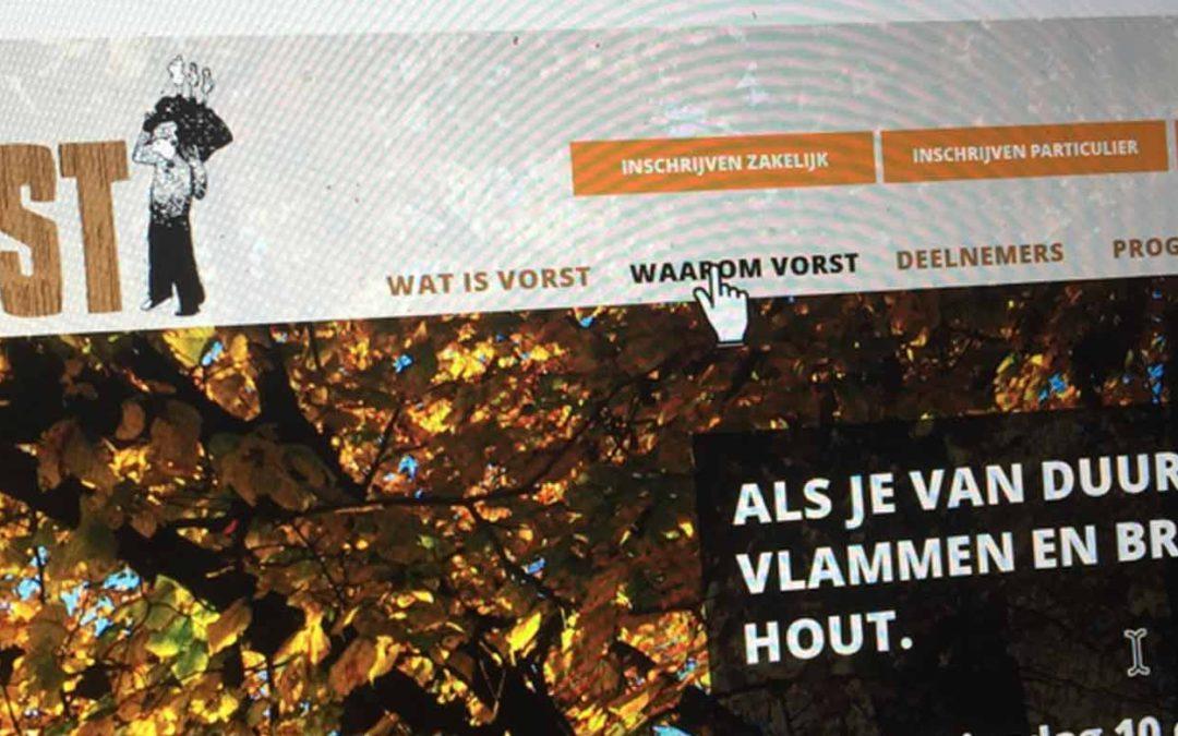 Website voor Vorst.nl